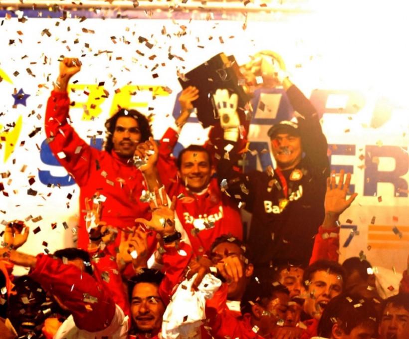 07/06/2007: Campeão da Recopa Sul Americana