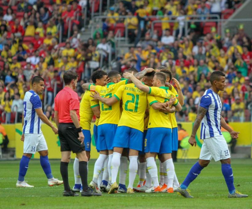 09/06/2019: Amistoso entre Brasil e Honduras